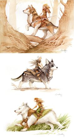 Visit our web site for more relevant information on corgi. It is actually a great place to get more information. Fantasy Drawings, Fantasy Artwork, Fantasy Creatures, Mythical Creatures, Animal Drawings, Cute Drawings, Fantasy Wesen, Animals Watercolor, Corgi Drawing