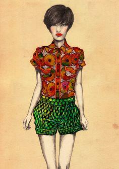 Africa Fashion Guide - Natsuki Otani.