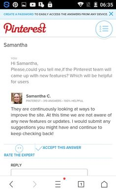 •ABOUT THE PINTEREST NEW VERSION• 4