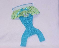 Female Dog Diaper Panties Pet Wrap Britches by ThePurplePuppy