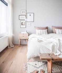 Bedroom Inspo from @holly_avenuelifestyle - check out her blog for the full before and after bedroom Reno