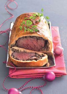 Filet de bœuf et champignons en croûte briochée