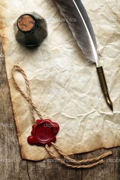 I will own a quill and ink