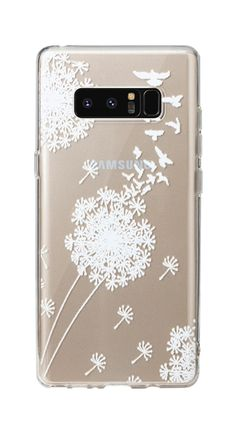 CRYSTAL GEL DANDELION White Phone Case Holder Accessories For Galaxy Note8 | eBay Samsung Galaxy Note 8, Dandelion, Phone Cases, Crystals, Ebay, Accessories, Dandelions, Crystal, Taraxacum Officinale