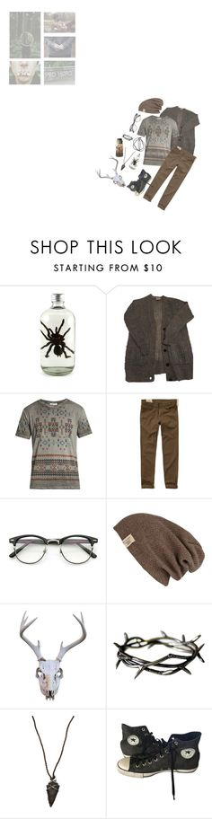 """nature boy"" by filth-in-the-beauty ❤ liked on Polyvore featuring Valentino, Hollister Co., River Island, Lou Zeldis, Converse, men's fashion and menswear"