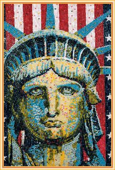 Check out these amazing art pieces made entirely out of Jelly Belly jelly beans! Featuring art by Kristen Cummings, Peter Rocha, Malcolm West, & more! Candy Companies, I Love America, Beer Caps, Centenario, Jelly Belly, Unusual Art, Dream City, My Favorite Image, Our Lady