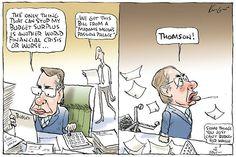 Mark Knight cartoon 10 May 2012