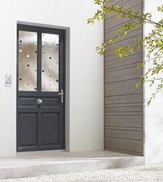 porte aluminium porte entree bel 39 m classique poignee plaque gris deco bel 39 m mi vitree. Black Bedroom Furniture Sets. Home Design Ideas