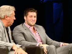 """photo from Friday night """"an evening with John C Maxwell and Tim Tebow...it was GREAT!!!"""