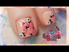 Nail Art Videos, Cute Animal Photos, Toe Nails, Pedicure, Nail Designs, Lily, Floral, Jimin, Google
