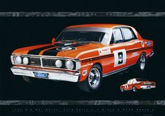 1973 Moffat GTHO Phase 3 - Poster.