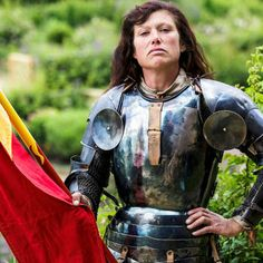 Nicky Willis and Alix van Zijl become the first female knights to take part in the English Heritage Jousting Competitions.
