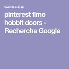pinterest fimo hobbit doors - Recherche Google