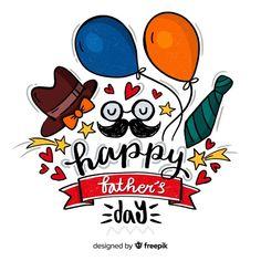 Feliz día del padre vector gratuito | Free Vector #Freepik #freevector #fondo #lazo #fiesta #amor Happy Fathers Day Cake, Happy Fathers Day Message, Fathers Day Cupcakes, Happy Fathers Day Images, Fathers Day Pictures, Fathers Day Quotes, Happy B Day, Fathers Day Cards, Fathersday Crafts