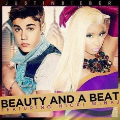 beauty and a beat- justin bieber featuring nicki minaj. love the video, not the auto tuning! Justin Bieber Videos, Justin Bieber Ft, Nicki Minaj Music Videos, Hollywood Songs, Beauty And The Beat, Celebs, Celebrities, Looks Cool, Pop Music