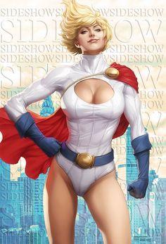 Power Girl Premium Format Figure by Artgerm on DeviantArt