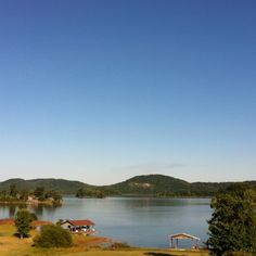 Cherokee Lake in the summer