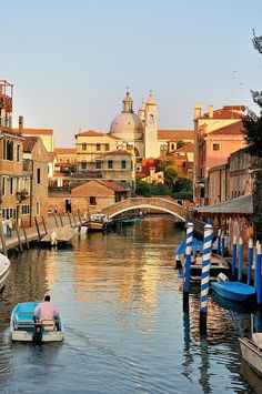 Rio dei Ognissanti, Venice, Italy