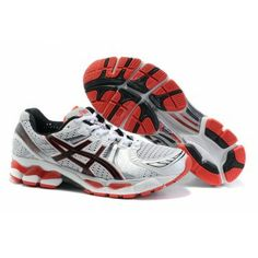 76xy Zapatos Asics Kayano 17 Hombre Rojo/Blanco
