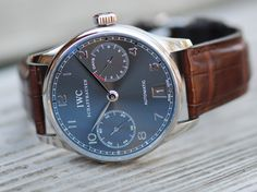 IWC Power Reserve White Gold