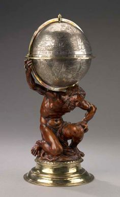 Covered cup: Hercules Supporting the Heavenly Sphere  around 1630–1640