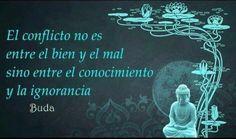 El conflicto no es entre el bien y el mal, sino entre el conocimiento y la ignorancia. pic.twitter.com/wSTvD9bw71