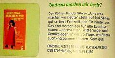 Unser Kinderguide Köln im Stadtmagazin KÄNGURU
