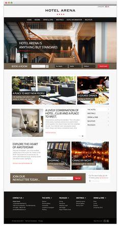 Hotel Arena | Website Design