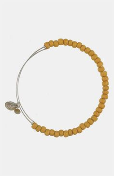 Alex and Ani 'Bohemian Sea Bead' Expandable Wire Bangle available at #Nordstrom