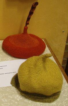 Nalbinding berets
