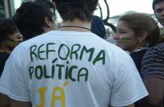 Movimentos populares defendem plebiscito para reforma política