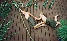 optical illusion chalk photo ideas and fun games with kids - jungle party - ideas for the family great for a party | Mouths of Mums love this | www.mouthsofmums.com.au