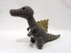 Dinosaur Crochet PATTERN BUNDLE 4 Amigurumi DInosaurs by MevvSan