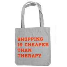 Totebag Shopping...grey Reusable Tote Bags, Grey, Shopping, Fashion, Gray, Moda, Fashion Styles, Fasion