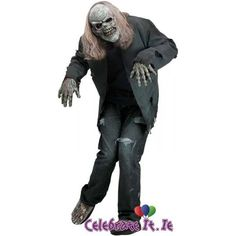 OFF or FREE SHIP -Instant Zombie Costume Kit : The ultimate zombie costume kit which includes rotting zombie mask, 2 rotting hands and a pair zombie shoe covers. Simply add your own rotting costume. One size fits most adults Scary Costumes For Men, Zombie Halloween Costumes, Adult Halloween, Halloween 2016, Halloween Queen, Trendy Halloween, Halloween Parties, Halloween Ideas, Halloween Decorations