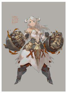 ArtStation - draw for 山海戰記, Krenz Cushart