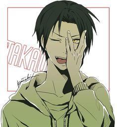 Takao Kazunari - Kuroko no Basuke - Image - Zerochan Anime Image Board Cute Anime Boy, Hot Anime Guys, Dream Anime, Midorima Shintarou, Takao Kazunari, Generation Of Miracles, Anime Crossover, Kuroko's Basketball, Kuroko No Basket