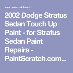Dodge stratus heater core replacement in saint hedwig 78152 tx 2002 dodge stratus sedan touch up paint for stratus sedan paint repairs fandeluxe Image collections