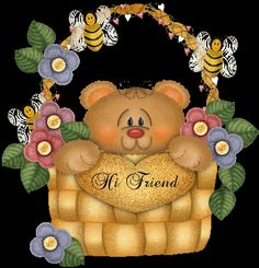 Photo: This Photo was uploaded by Find other pictures and photos or upload your own with Photobucket free image and vid. Good Morning Sister, Good Morning Picture, Good Morning Friends, Hi Gif, Teddy Bear Quotes, Hug Images, I Love My Friends, Special Friends, Teddy Bear Pictures