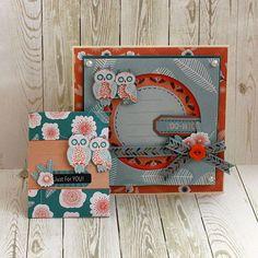Ręcznie wykonana kartka z życzeniami oraz opakowanie na biżuterię.