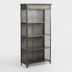 Metal Bexley Bookcase - v1
