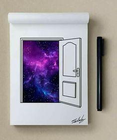 open the door, find a galaxy