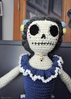 Dead Doll/ handmade Crochet doll Amigurumi Day by CrochetbyBettyJo, $55.00