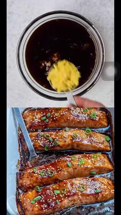 Easy Fish Recipes, Baked Salmon Recipes, Seafood Recipes, Dinner Recipes, Cooking Recipes, Healthy Recipes, Cooking Time, Teriyaki Fish, Baked Teriyaki Salmon