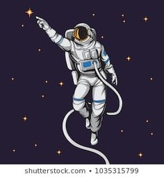 Find astronaut stock images in HD and millions of other royalty-free stock photos, illustrations and vectors in the Shutterstock collection. Thousands of new, high-quality pictures added every day. Space Drawings, Easy Drawings, Astronaut Images, Suit Drawing, Astronaut Illustration, Star Tattoos, Tatoos, Astronauts In Space, Comic Styles