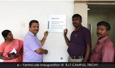Lab Inauguration @ BIT Campus, Trichy