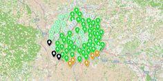 Carte interactive: l'eau du robinet de votre commune est-elle de bonne qualité?