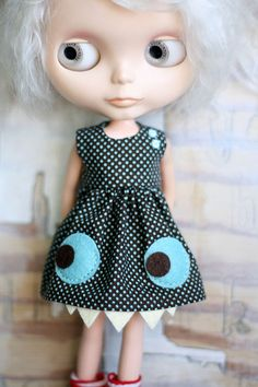 Button Arcade's monster Blythe Dresses are my fave.