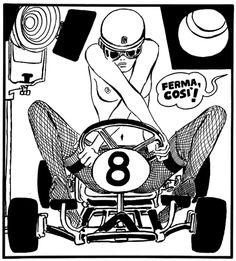 Guido Crepax poster - 1969.