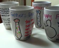 手作りカップもいいかも☆父の日手作りプレゼントアイデア